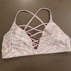 Victoria Secret strappy sports bra